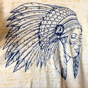 Native American Girl in Headdress Graphic Tee
